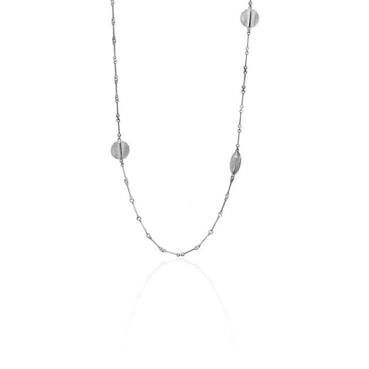 Nile Sautoir - Silver - Lapponia #jewellery #cambridge #tourdefrance #chain #lapponia #style