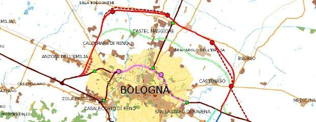#passante_nord:  40 Km di cemento e consumo di suolo intorno alla Provincia di Bologna: costo dell'opera 1 miliardo e 350 milioni di € !!  1 Km = € 33.750.000,00 !!! #Legambiente_medicina