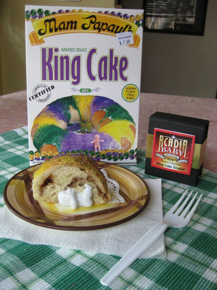 King Cake With Porcelain Baby