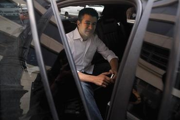 Travis Kalanick, above, CEO of Uber. Uber lets users summon a ride with an app.Taxi Service, Smart Phones, Social Media, Town Cars, Travis Kalanick, Cars Service, Public Relatable, User Summoning, Black Cars