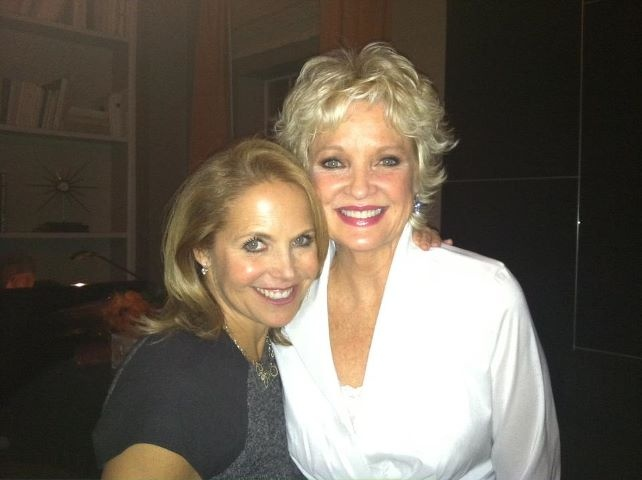 With my incredibly talented friend Christine Ebersole after her opening night at the cafe Carlyle!