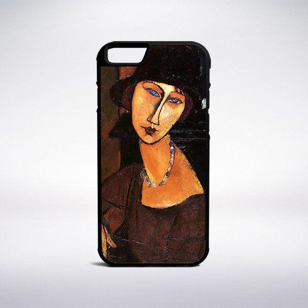 Amedeo Modigliani - Jeanne Hebuterne With Hat And Necklace Phone Case – Muse…