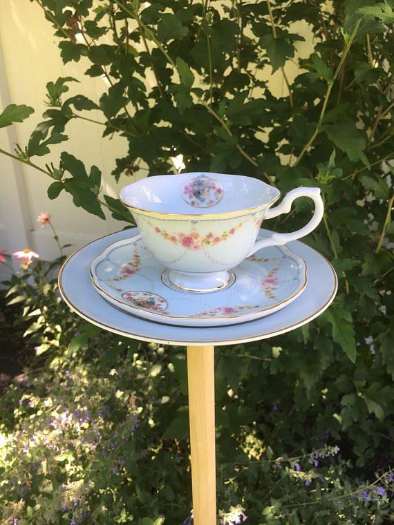 Blue china bird feeder  garden accessories  garden decor #specialTweek