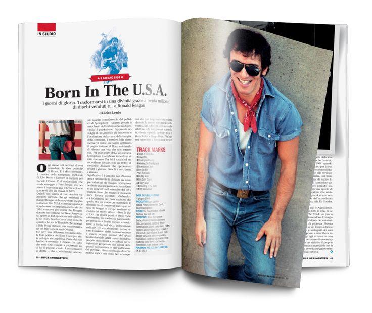 Speciale Bruce Springsteen Un progetto di Musica Jazz e Music Circus Art Director Silvano Belloni Publisher Marco Tatarella Illustrazioni Davide Forleo Foto Brooks Kraft LLC/Getty Images