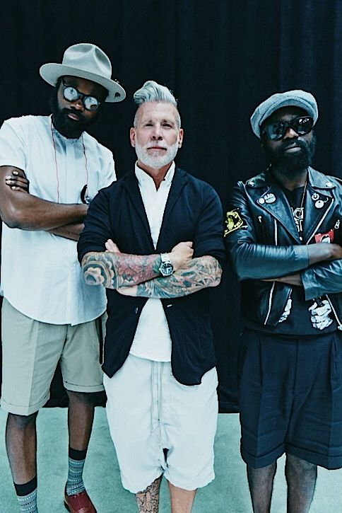fashionwear4men: artcomesfirst: With the great Nick Wooster ACF Experience @… http://yourstyle-men.tumblr.com/post/92915806614