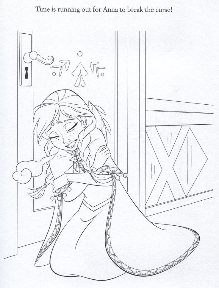 disney frozen coloring sheets   Official Frozen Illustrations (Coloring Pages) - Frozen Photo ...