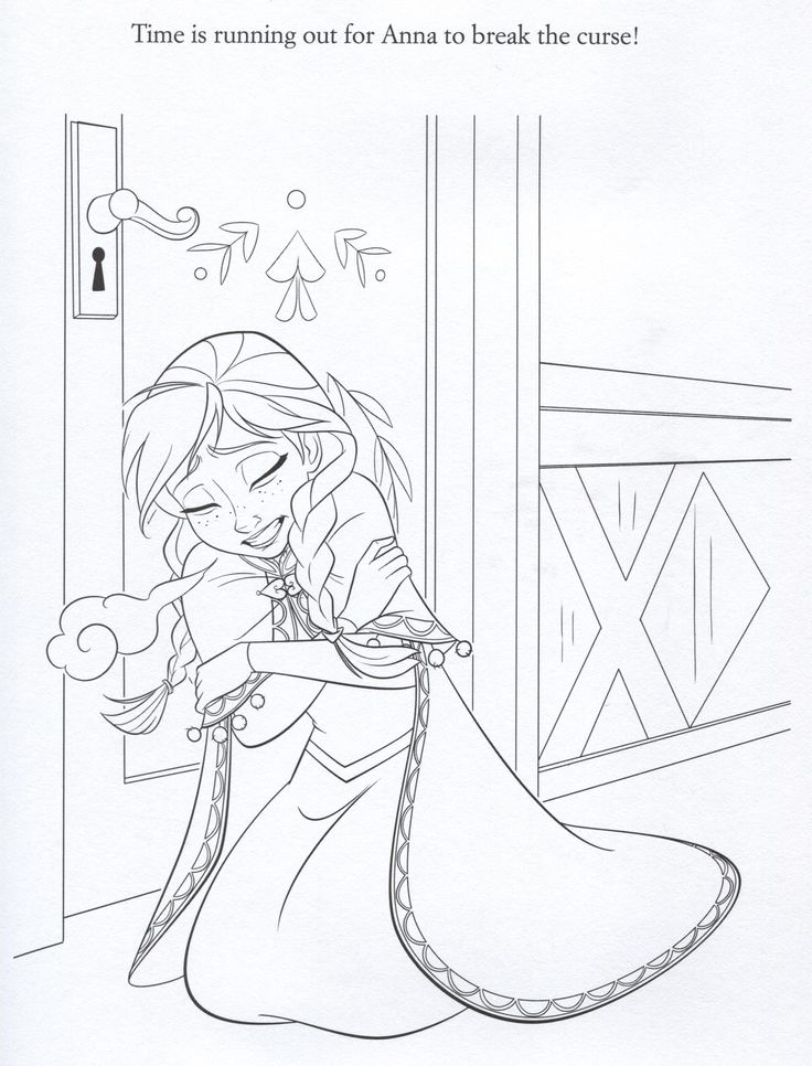 disney frozen coloring sheets | Official Frozen Illustrations (Coloring Pages) - Frozen Photo ...