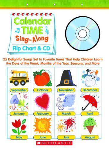 Kindergarten Calendar Flip Chart : Best images about pre k abcs on pinterest the