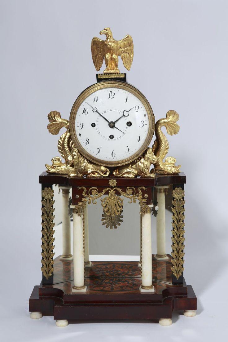 Empírové stolní hodiny | Hodiny | Starožitnosti - Galerie USTAR