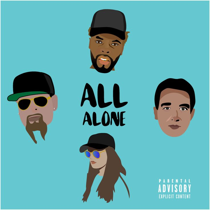 "Jonathan Hay, Kevin Pollari, Iliana Eve, Mike Smith and King Graint record ""Alone Alone"" for the Smith & Hay record label."