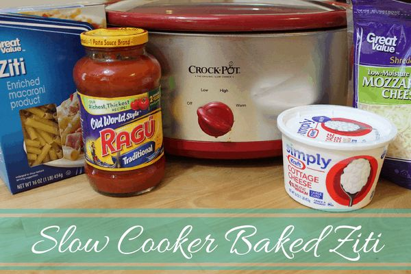 I can understand why this Slow Cooker Baked Ziti recipe is so popular. All you need to do is combine all ingredients in the slow cooker and you have dinner ready in a couple hours. Easy!