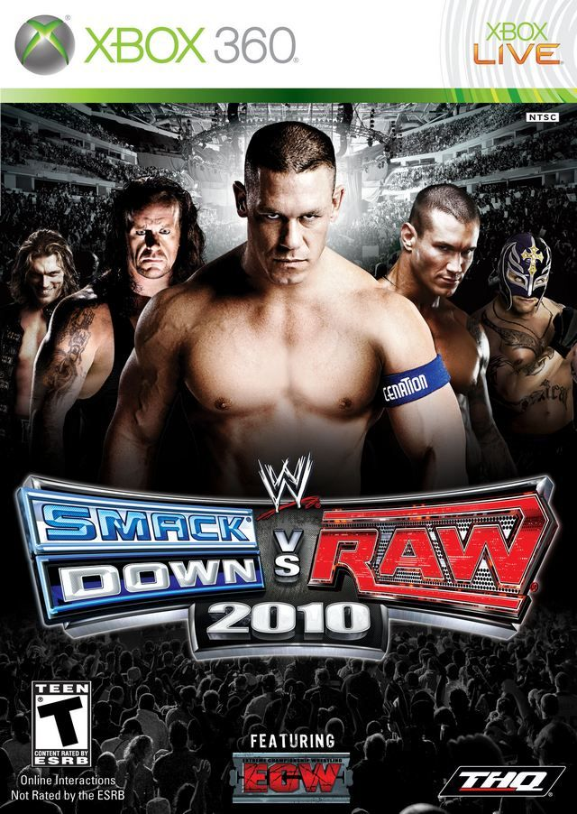WWE SmackDown vs. RAW 2010 Wwe game, Download games