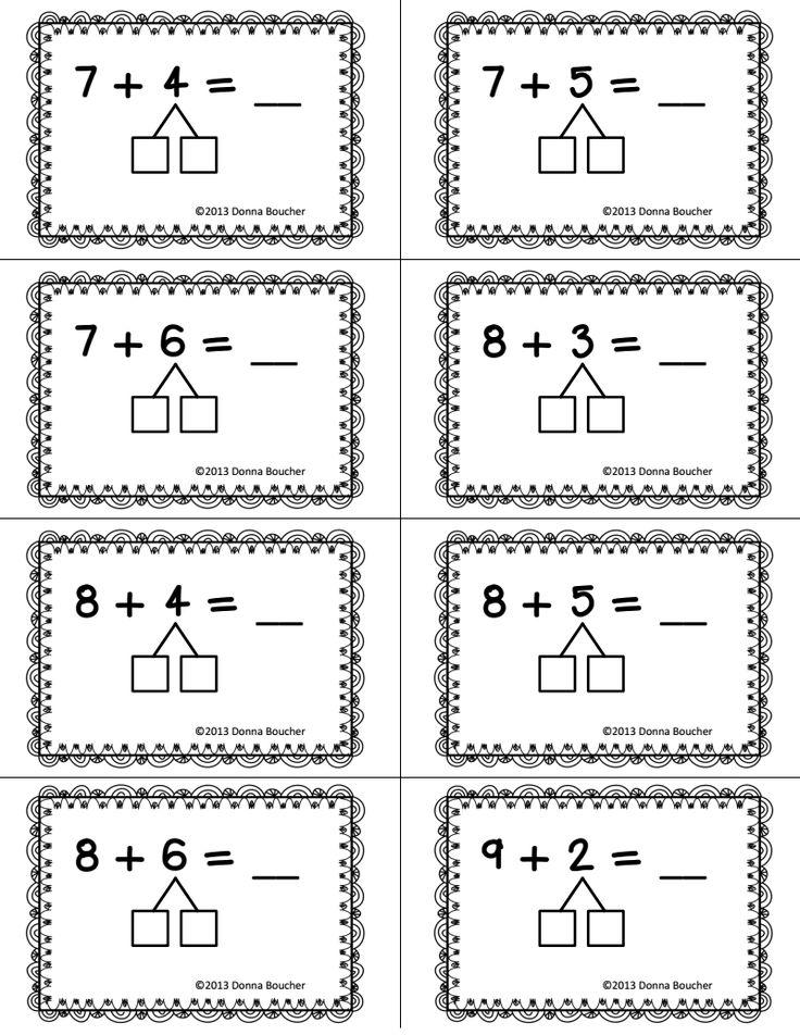 addition ways to make ten worksheets addition making 10. Black Bedroom Furniture Sets. Home Design Ideas