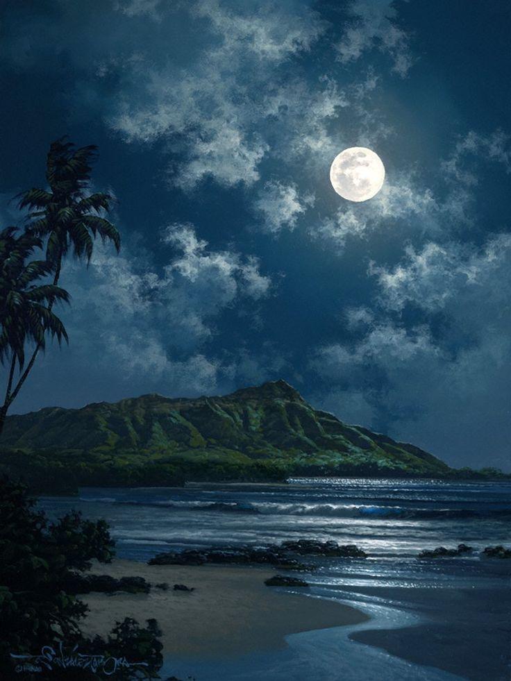 hawaiian artists paintings | Roy Tabora | Symphony of the Sea | Tutt'Art@ | Pittura * Scultura ...