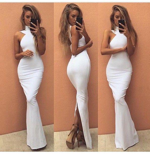 Halter Mermaid Prom Dress,Long Prom Dresses,Charming Prom Dresses,Evening Dress, Prom Gowns, Formal Women Dress,prom dress,F209