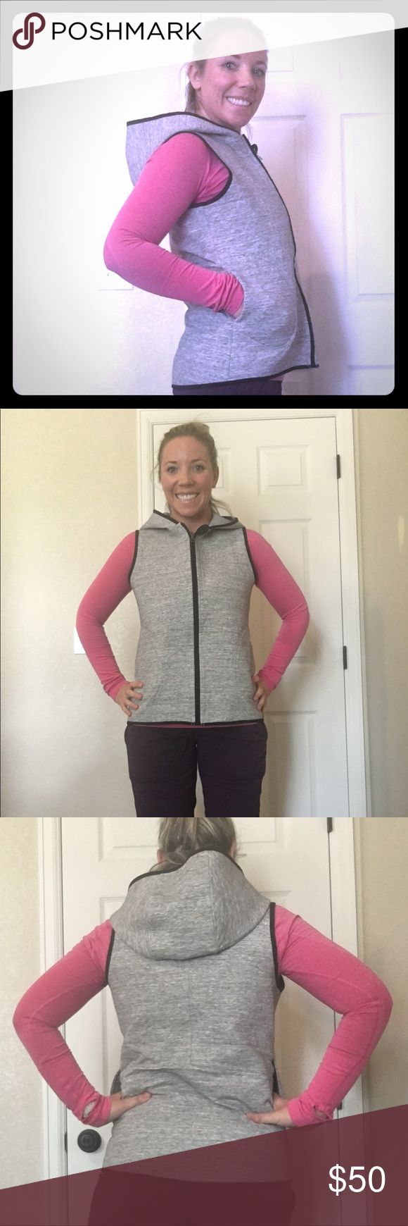 Lululemon vest Lululemon zip up vest lululemon athletica Jackets & Coats Vests