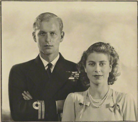 Princess Elizabeth and Duke of Edinburgh, Prince Phillip | by the Waxbitch®