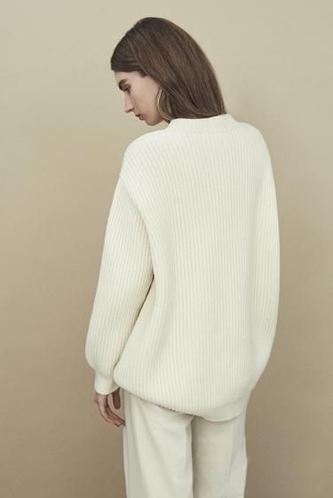 Inver Rib Cocoon Knit