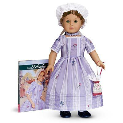 Felicity Merriman. I've spent endless amounts of time reading and playing with American Girl dolls!