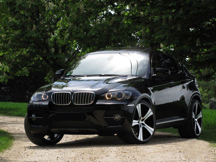 BMW X6 with Buran Black Diamond professional alloy wheels GMP Italia made in Italy / BMW X6 con cerchi in lega Buran Nero diamantato GMP Italia made in Italy http://www.gmpitalia.com/alloy-wheel-collection/12-buran