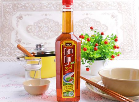 Chin-su Fish Sauce is the single most important ingredient in Vietnamese cooking. Naturally pressed from anchovy extract and sea salt.  Place your order here http://bit.ly/2h0BiCg