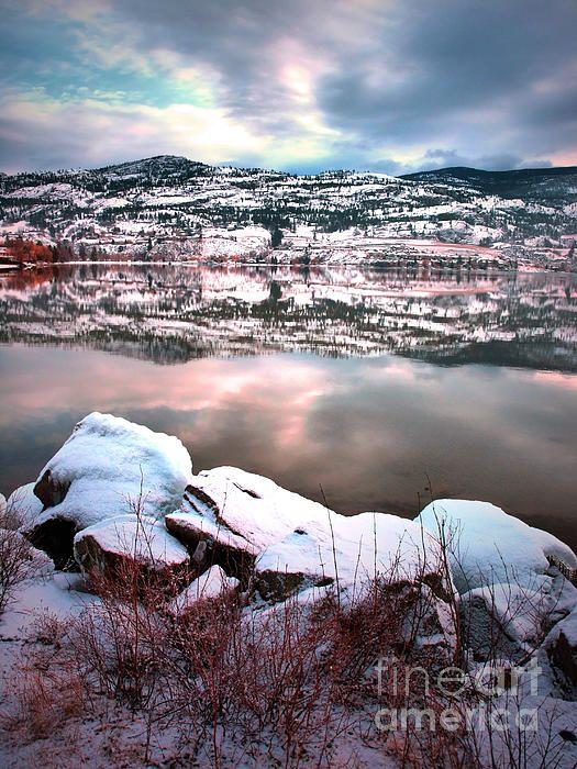 An Okanagan Winter - Skaha Lake, Penticton BC Canada - Tara Turner