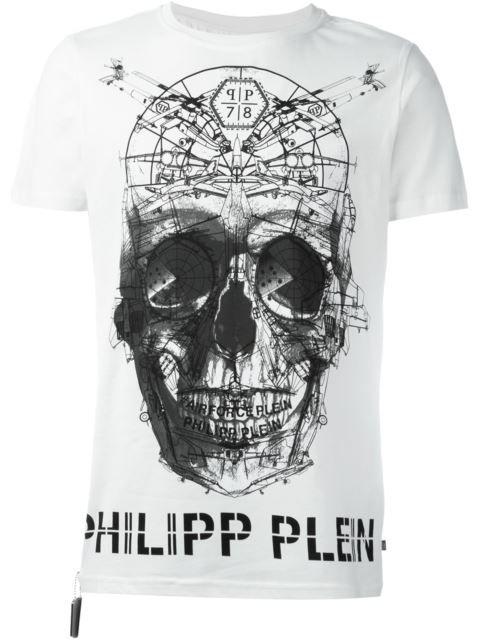 PHILIPP PLEIN 'Anger' T-Shirt. #philippplein #cloth #t-shirt