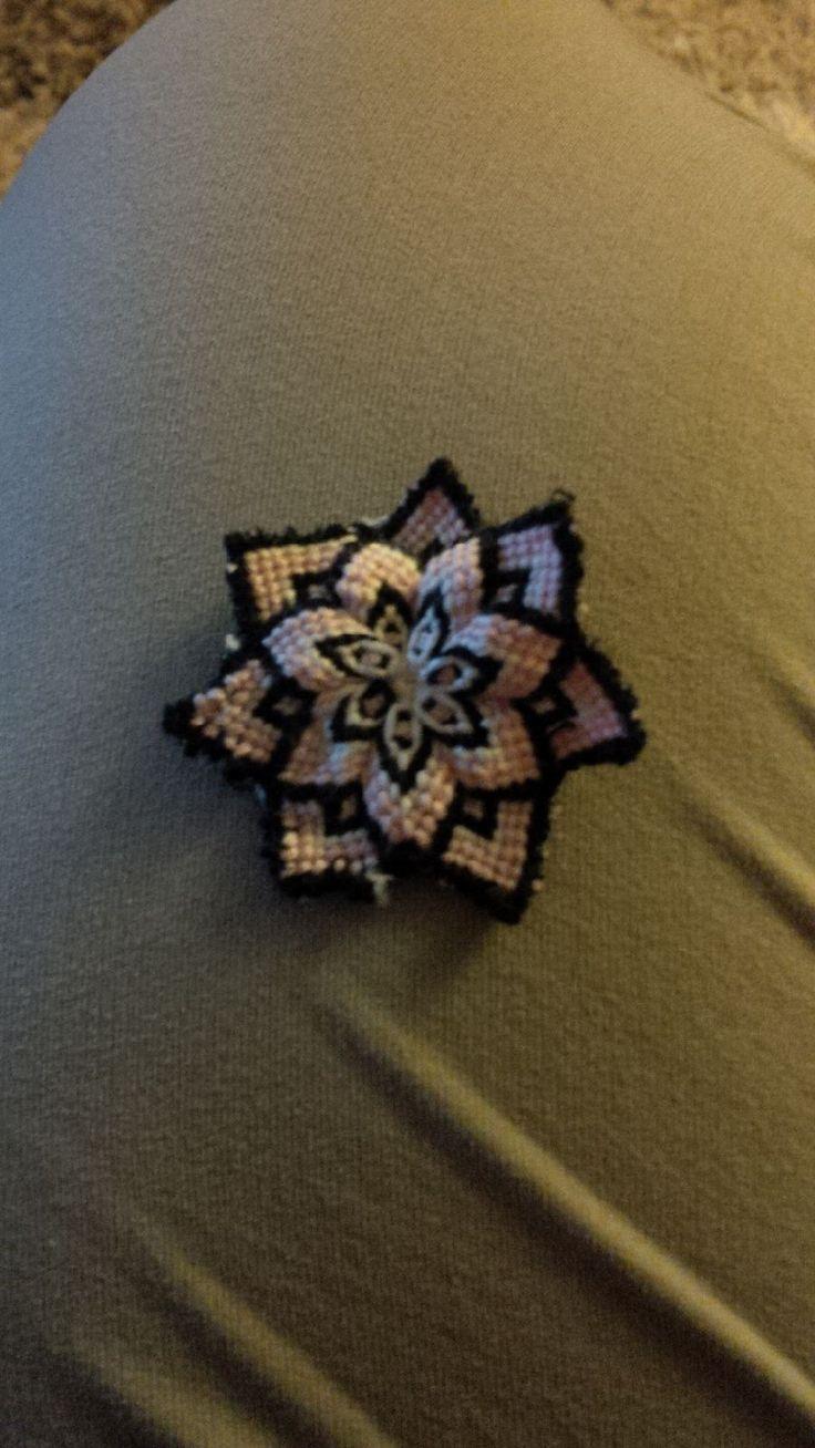 macrame mandala pattern