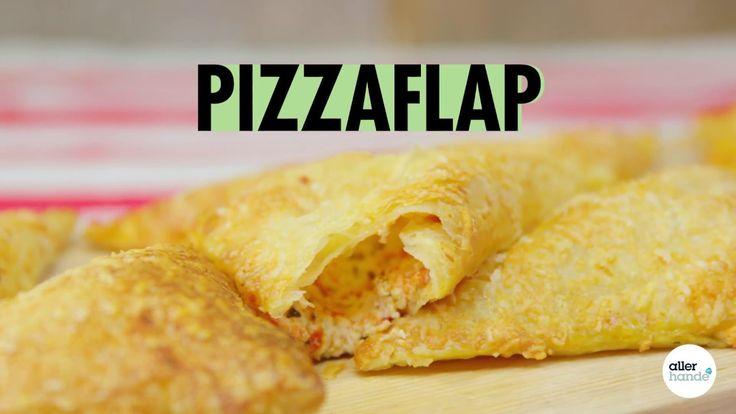 Trakteer je gasten op deze partyproof Italiaanse pizzaflapjes gevuld met Parmezaanse kaas en ricotta.  - Receptvideo - Allerhande