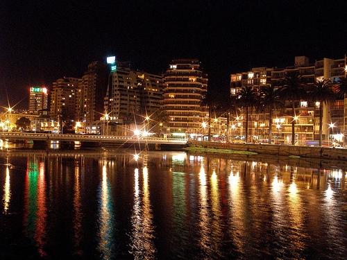 Viña del Mar de noche #VinadelMar #Night #Chile