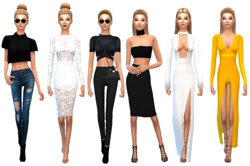 KENDALL JENNER AND GIGI HADID at TS4 Celebrities Corner - Aaliyah Hairstyles