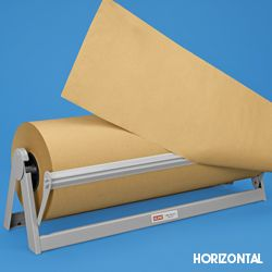 """Paper Roll Cutter, Butcher Paper Dispenser in Stock - weight and price is just for the cutter ULINE - 18""""- $36- 4 lbs, 24"""" $45 - 5 lbs, 36"""" $55 - 6lbs, 48"""" $71 11 lbs"""
