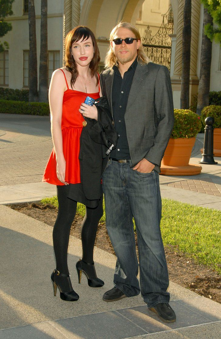 Pin for Later: Get to Know Charlie Hunnam's Gorgeous Longtime Girlfriend  Charlie Hunnam and Morgana McNelis arrived together for a season two premiere screening of Sons of Anarchy in LA in August 2009.