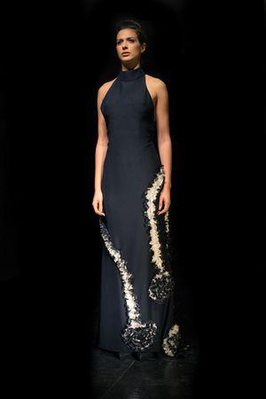 Alkmini collection, black dress www.alkmini.info