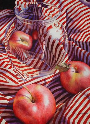 Chris Krupinski - Apples, Stripes, and Jar