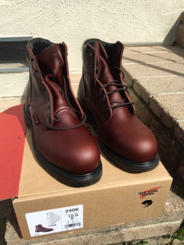 Men's Red Wing New Safety Toe Boots