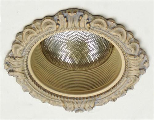 "Victorian Medallion for 6"" Recessed Light by Beaux-Artes 