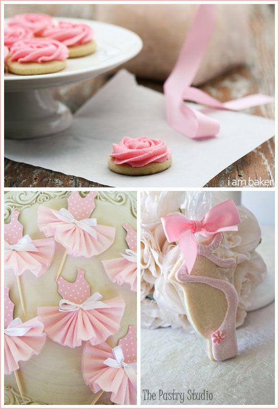ballerina theme. too cute