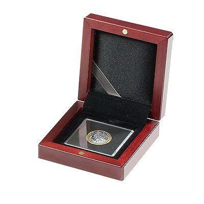 Münzbox Volterra von Leuchturm zur Unterbringung von Münzen in Quadrum Münzkapseln