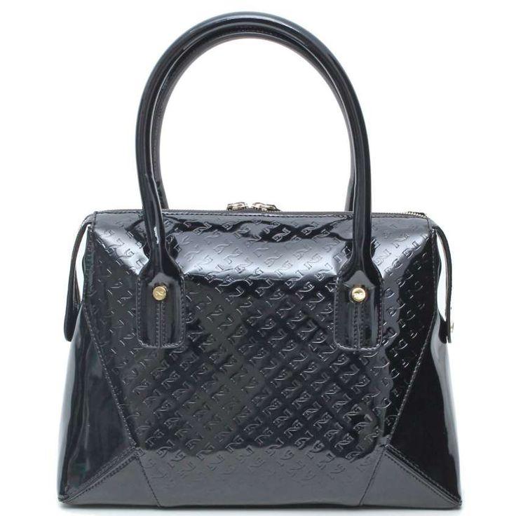 Catalogo borse Nero Giardini Primavera Estate 2015 - Handbag in vernice Nero Giardini