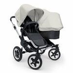 This Bugaboo Donkey includes the NEW Bugaboo Donkey Compact Fold Base%21The Bugaboo Donkey latest addition to Bugaboo's portfolio and is set  to become the new king of pavement. Built to grow with your family, the Bugaboo Donkey targets a growing niche is the ever%2Dchanging world of premium strollers. Whether you've got one child, two children, or even twins, this one stroller is all you need%21 3 simple clicks allow the Bugaboo Donkey to change from a mono (single%2Dmode