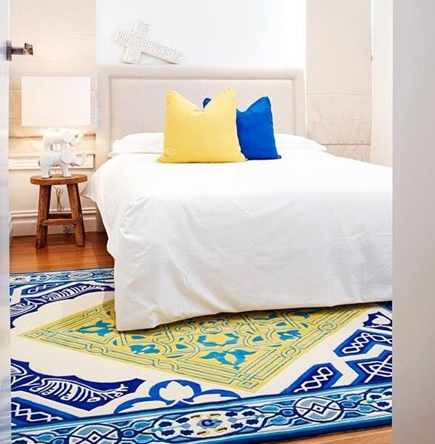 Camilla with Love - Hydra Rug in the bedroom