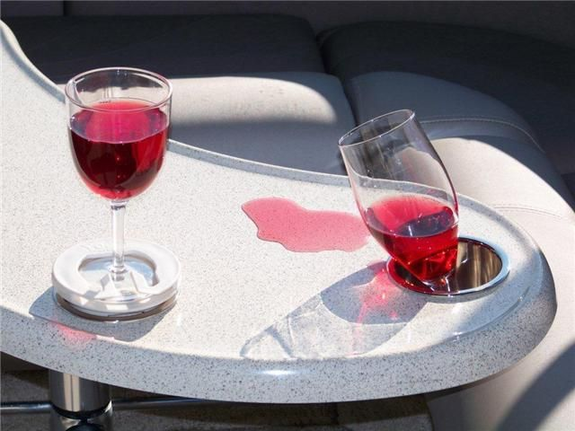 Wine glass cup holders.- These are great!  I totally need these!