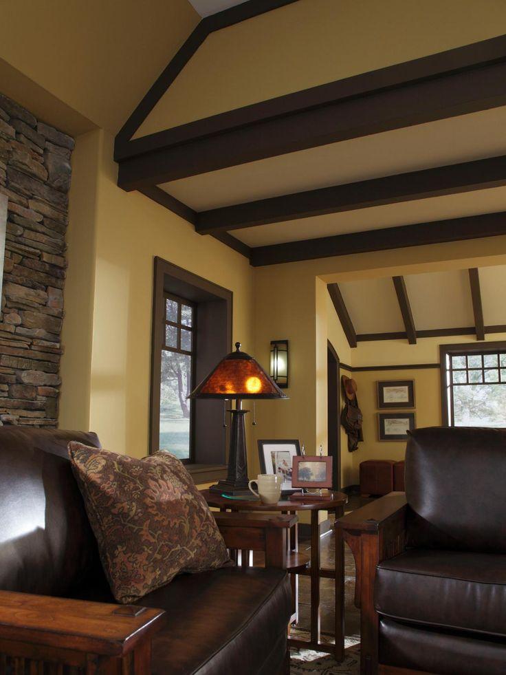25 Best Craftsman Living Rooms Ideas On Pinterest