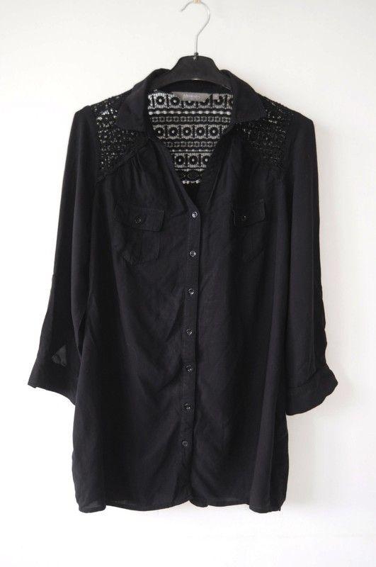7a2fa1656951f New Look Maternity tunika koszulowa czarna r. 38 - vinted.pl | dress ...