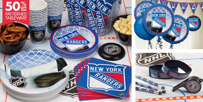 New York Rangers Party Supplies Party Cityhttp Www