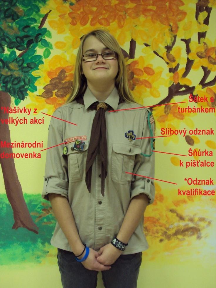 Czech Girl Scout