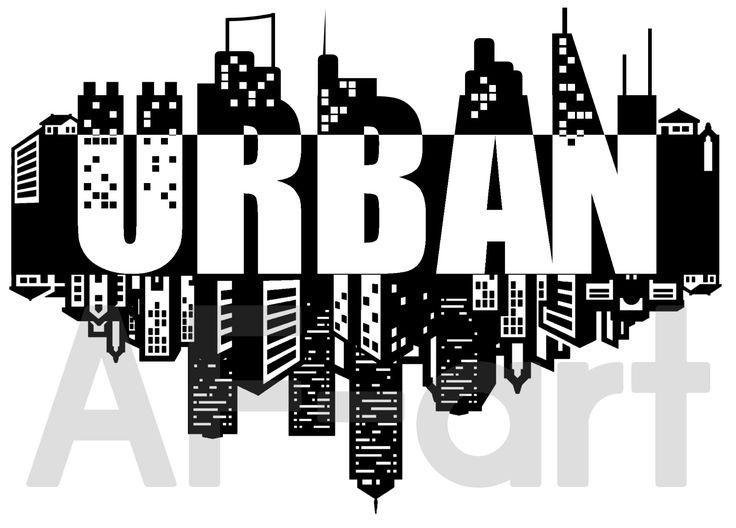• URBAN • Logo. Arte, art, disegno, drawing, draw, painting, paint, grafica, graphic, città, city, palazzi, nature, natura, bianco e nero, neri, scritta, writing, write, sky, cielo