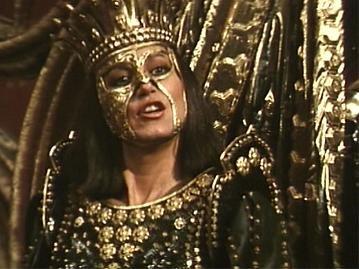 Sandahl Bergman as Queen Gedren in Red Sonja