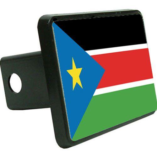 South-Sudan Flag Trailer Hitch Cover